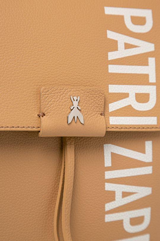 Patrizia Pepe - Kožený ruksak béžová