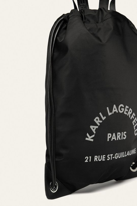 Karl Lagerfeld - Ruksak  88% Polyamid, 12% Prírodná koža