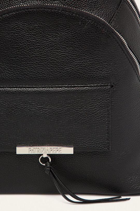 Patrizia Pepe - Kožený batoh černá