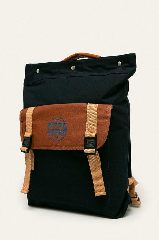 Pepe Jeans - Plecak Arthur Materiał zasadniczy: 100 % Poliester, Materiał 1: 100 % Poliester, Materiał 2: 100 % Polipropylen, Materiał 3: 100 % Bawełna, Wstawki: 100 % Skóra naturalna