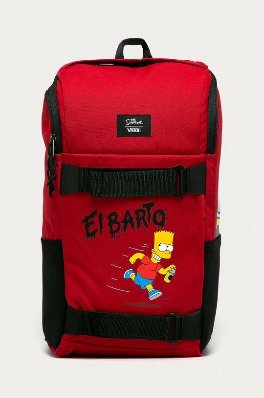 červená Vans - Ruksak x The Simpsons Pánsky