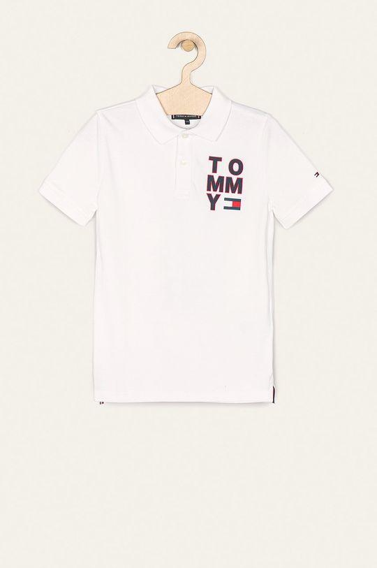 biela Tommy Hilfiger - Detské polo tričko 128-176 cm Chlapčenský