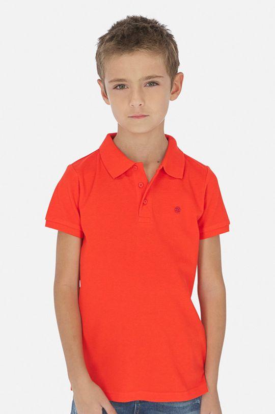 яскраво-червоний Mayoral - Дитяче поло 128-166 cm Для хлопчиків