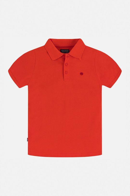 Mayoral - Дитяче поло 128-166 cm яскраво-червоний