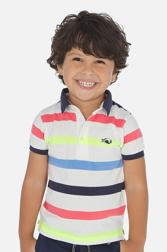multicolor Mayoral - Tricou polo copii 92-134 cm De băieți