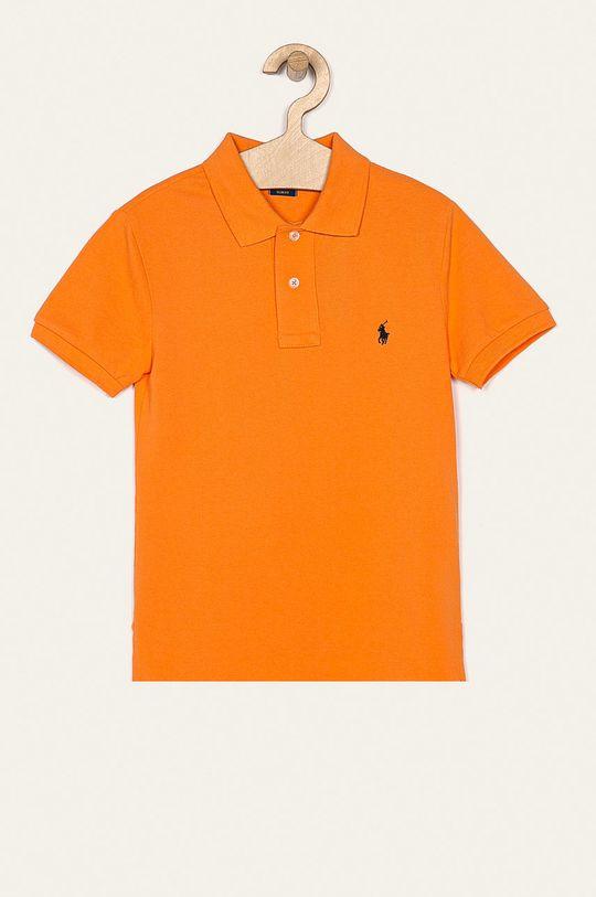 oranžová Polo Ralph Lauren - Detské polo tričko 134-176 cm Chlapčenský