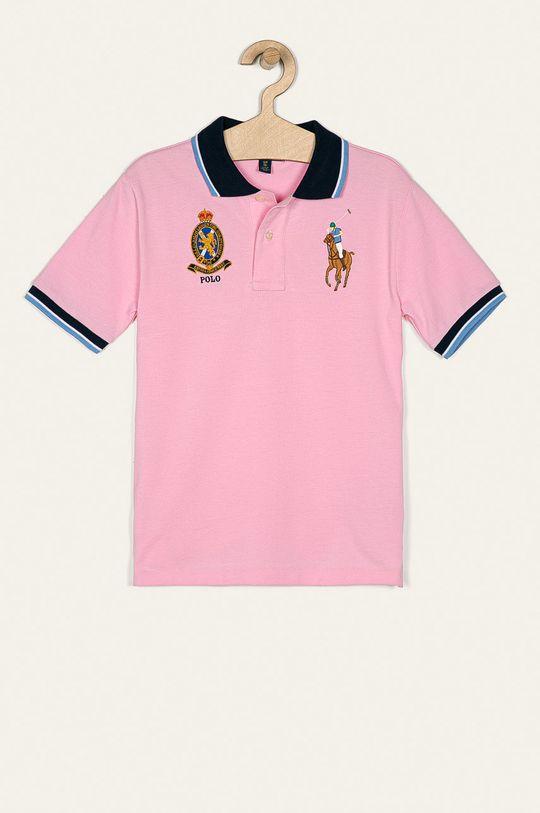 ružová Polo Ralph Lauren - Detské polo tričko 134-176 cm Chlapčenský