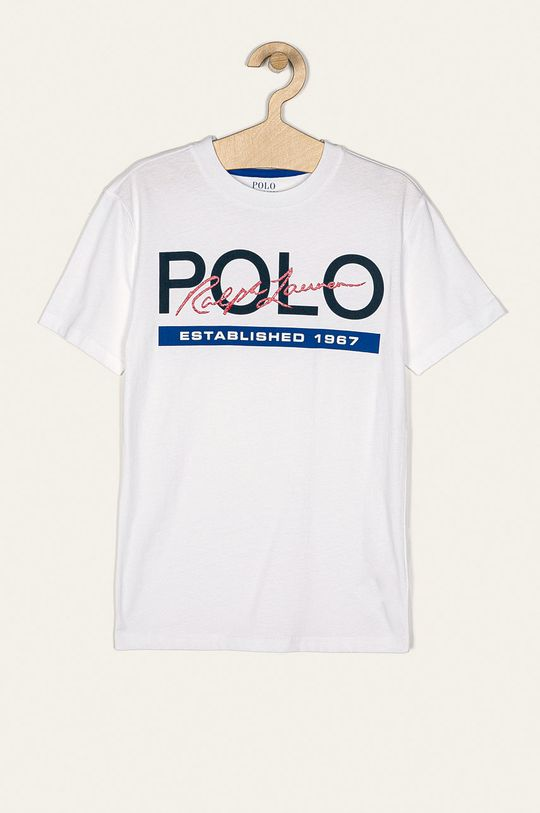 biela Polo Ralph Lauren - Detské tričko 134-176 cm Chlapčenský