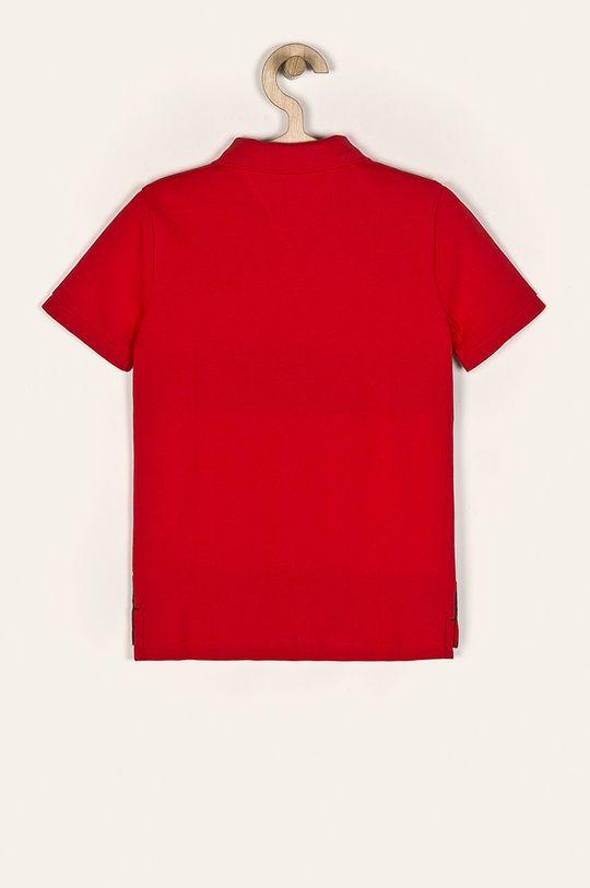 Tommy Hilfiger - Polo dziecięce 128-176 cm czerwony