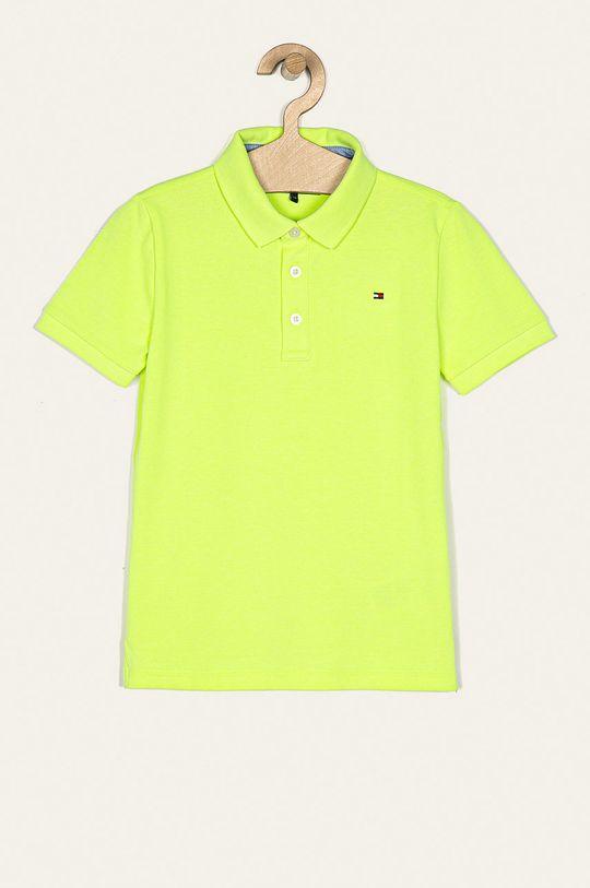 galben deschis Tommy Hilfiger - Tricou polo copii 128-176 cm De băieți