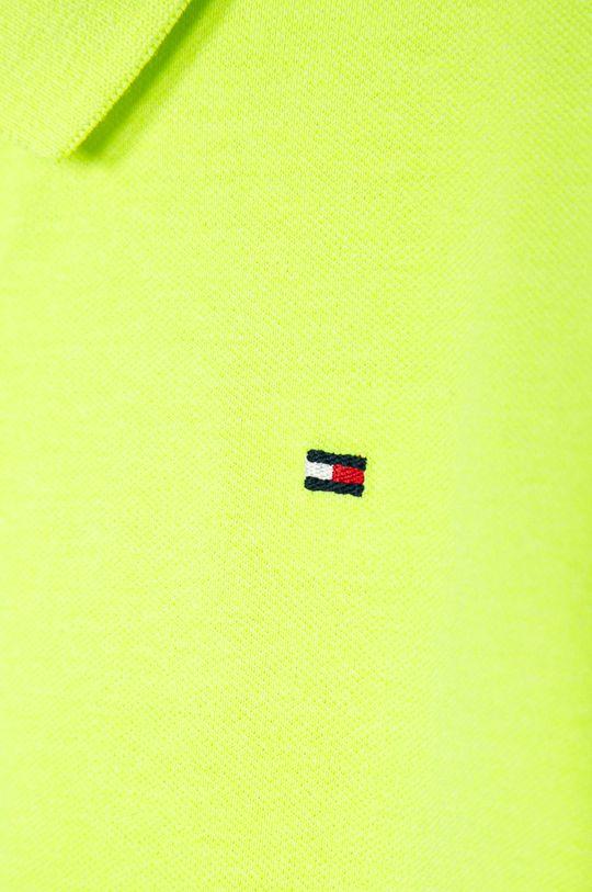 Tommy Hilfiger - Tricou polo copii 128-176 cm 60% Bumbac, 5% Elastan, 35% Poliester