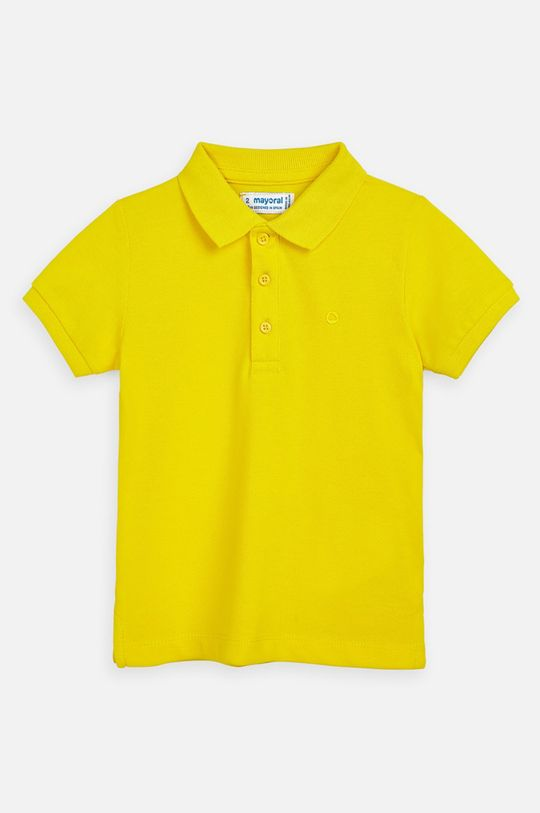 galben Mayoral - Tricou polo copii 92-134 cm De băieți