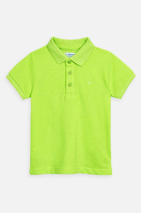 verde Mayoral - Tricou polo copii 92-134 cm De băieți