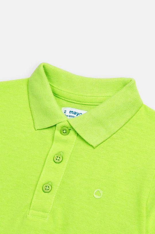 Mayoral - Tricou polo copii 92-134 cm 100% Bumbac