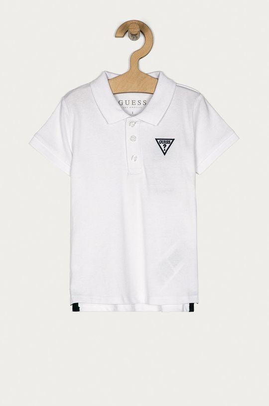 biały Guess Jeans - Polo dziecięce 92-122 cm Chłopięcy
