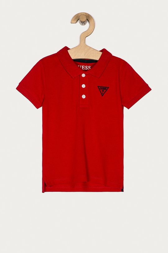 червоний Guess Jeans - Дитяче поло 92-122 cm Для хлопчиків