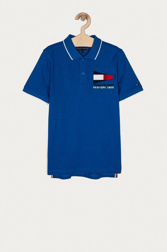 modrá Tommy Hilfiger - Detské polo tričko 140-176 cm Chlapčenský