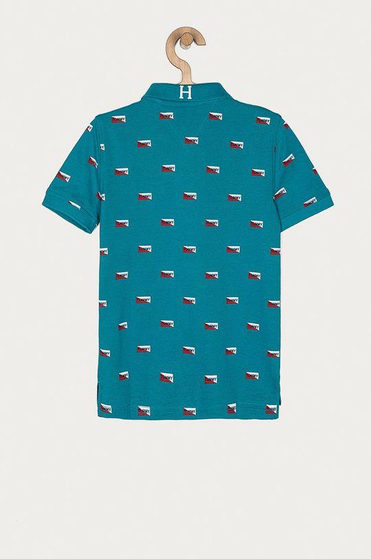 Tommy Hilfiger - Detské polo tričko 128-176 cm tyrkysová