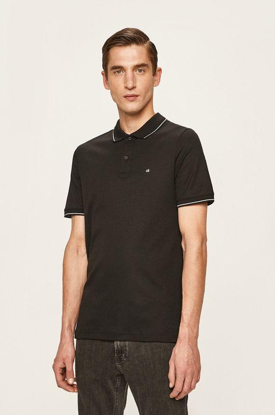 černá Calvin Klein - Polo tričko Pánský
