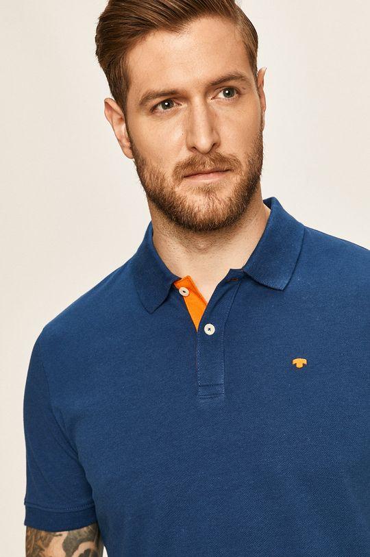 námořnická modř Tom Tailor Denim - Polo tričko