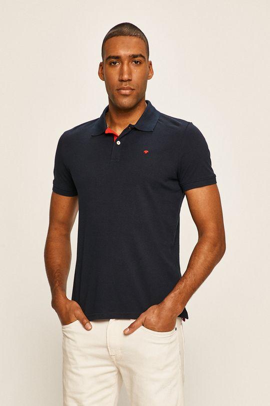 námořnická modř Tom Tailor Denim - Polo tričko Pánský