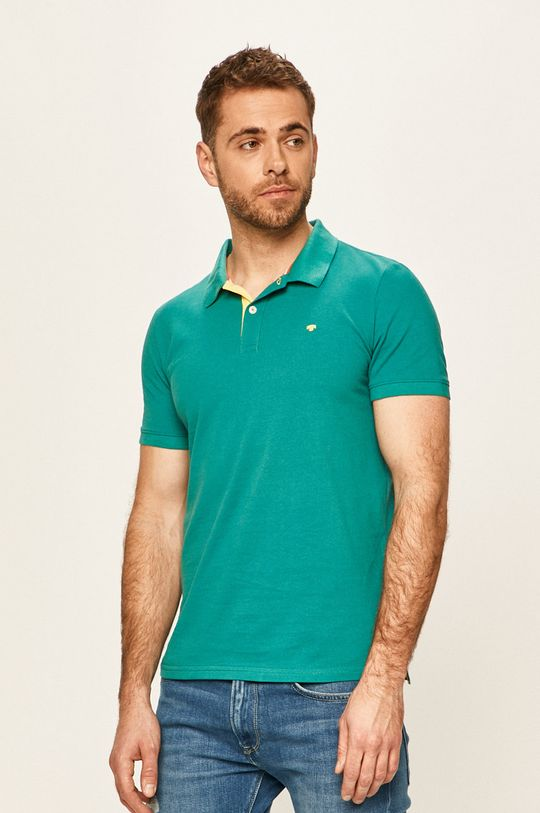 verde Tom Tailor Denim - Tricou Polo De bărbați