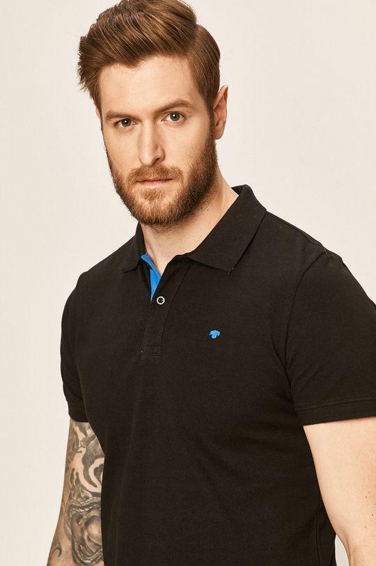 černá Tom Tailor Denim - Polo tričko