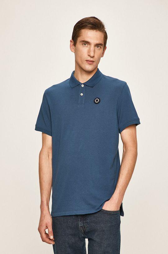 modrá Pepe Jeans - Polo tričko Cranford Pánský