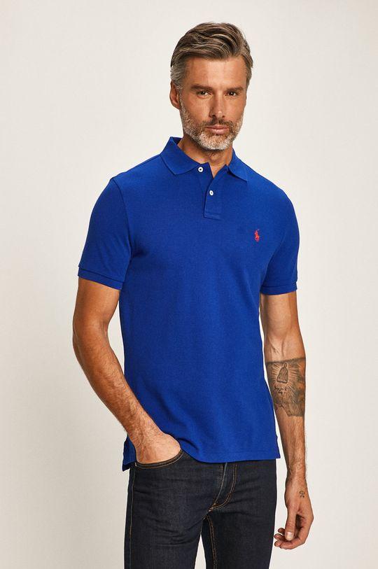modrá Polo Ralph Lauren - Polo tričko Pánský