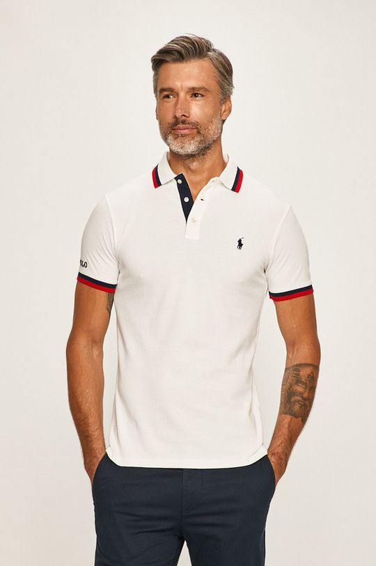 bílá Polo Ralph Lauren - Polo tričko