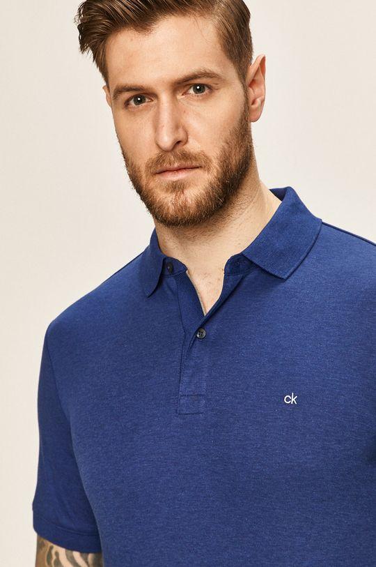 námořnická modř Calvin Klein - Polo tričko Pánský