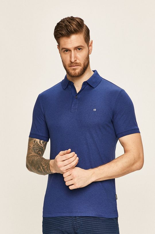 námořnická modř Calvin Klein - Polo tričko
