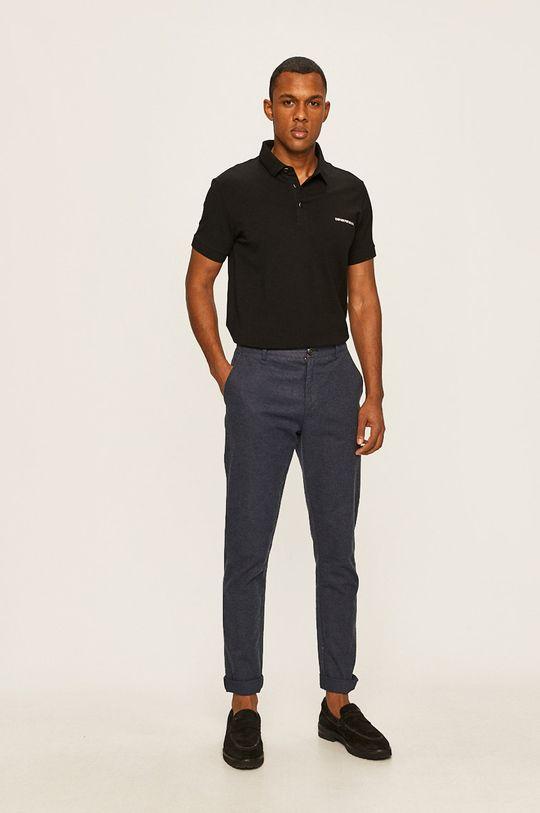 Emporio Armani - Tricou Polo negru