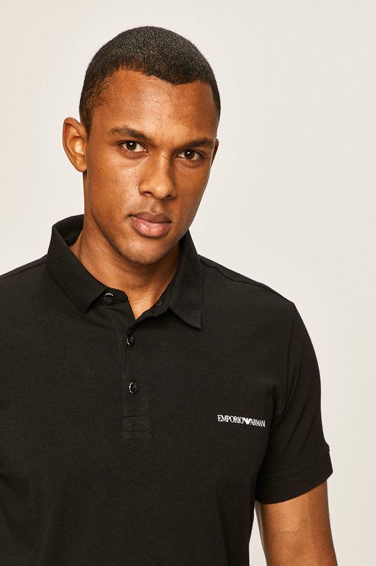 negru Emporio Armani - Tricou Polo