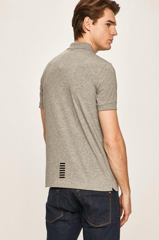 EA7 Emporio Armani - Polo tričko  95% Bavlna, 5% Elastan