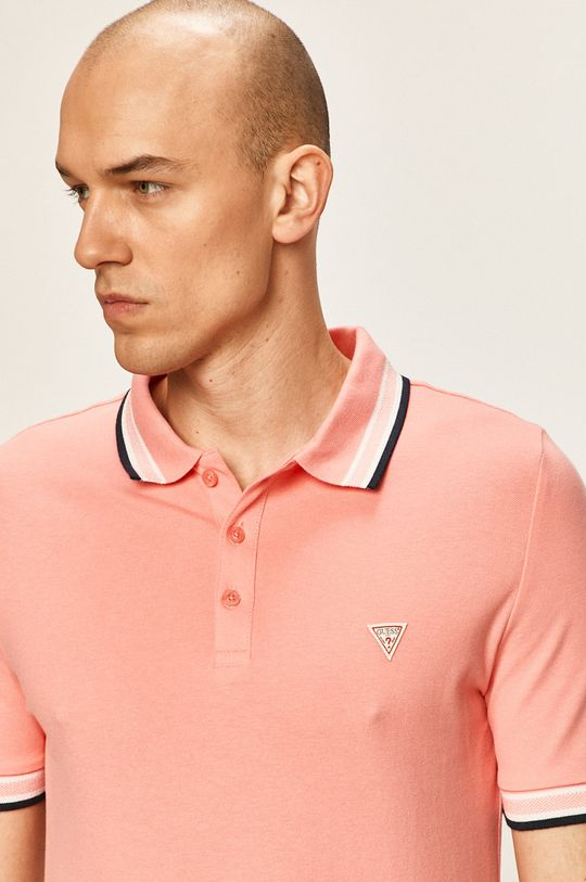 coral Guess Jeans - Tricou Polo