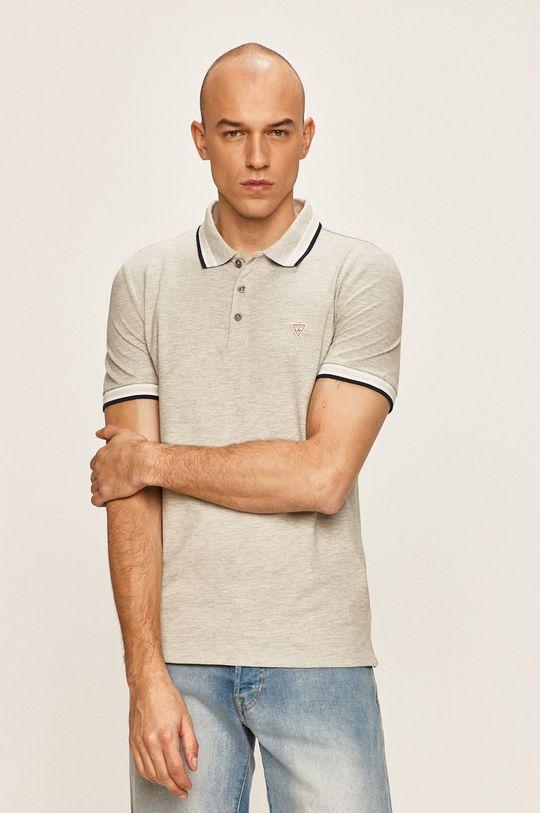 gri Guess Jeans - Tricou Polo De bărbați