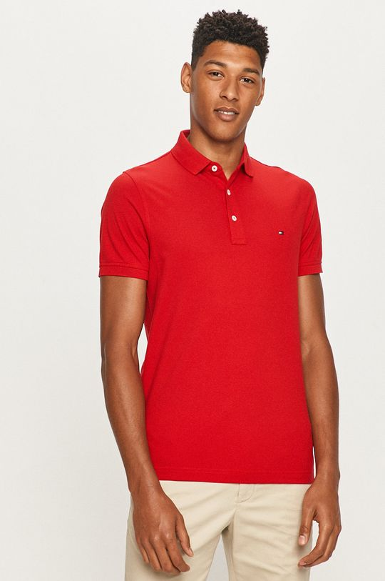 rosu Tommy Hilfiger - Tricou Polo De bărbați
