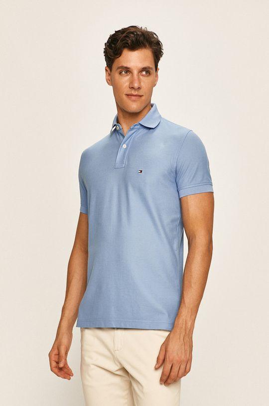 albastru deschis Tommy Hilfiger - Tricou polo De bărbați