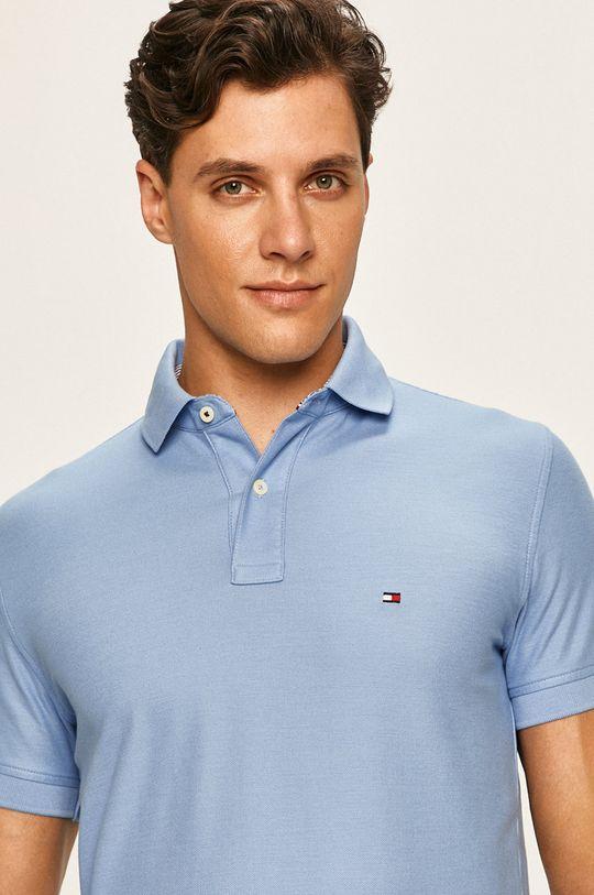 albastru deschis Tommy Hilfiger - Tricou polo