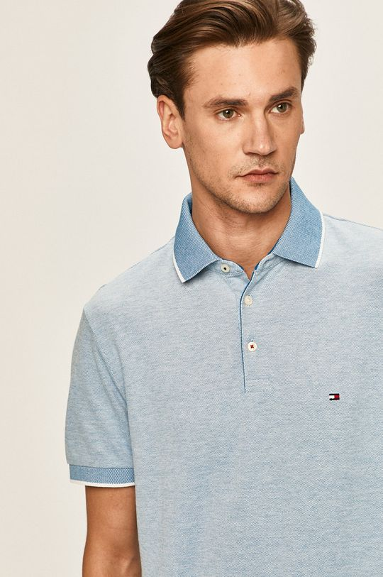 albastru Tommy Hilfiger - Tricou Polo