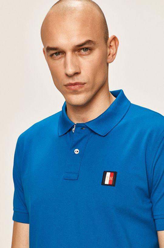modrá Tommy Hilfiger - Polo tričko