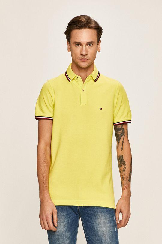 żółty Tommy Hilfiger - Polo