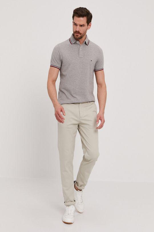 Tommy Hilfiger - Polo tričko šedá