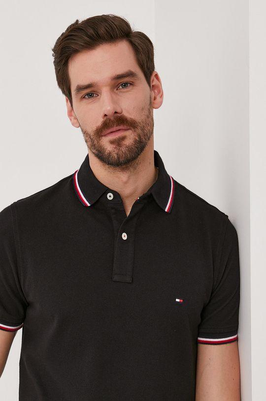 černá Tommy Hilfiger - Polo tričko