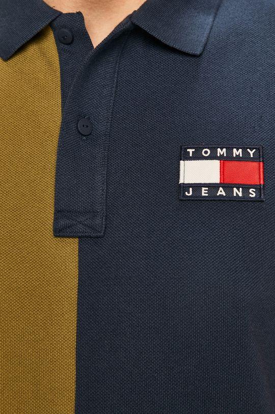 Tommy Jeans - Тениска с яка Чоловічий