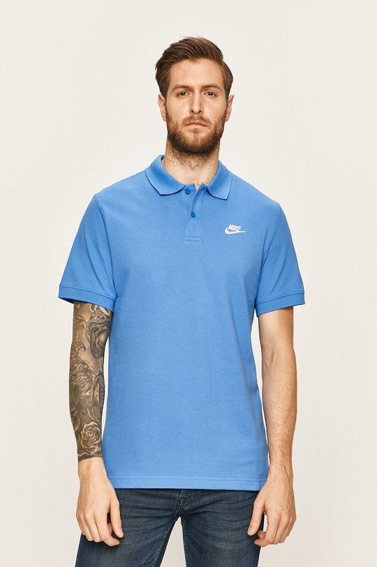 modrá Nike Sportswear - Polo tričko Pánský
