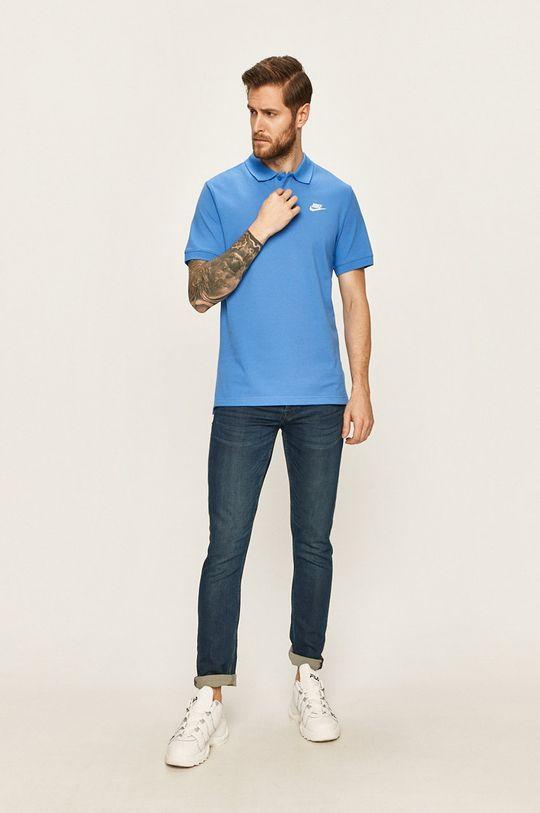Nike Sportswear - Polo tričko modrá