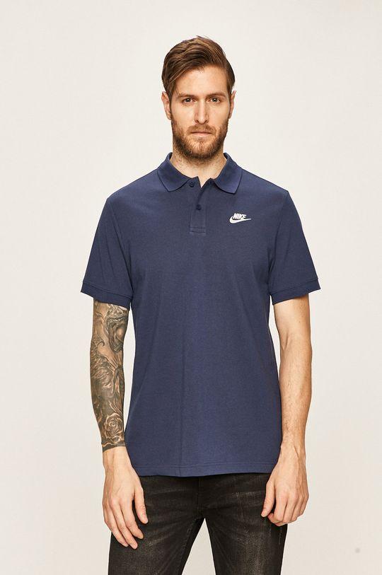 námořnická modř Nike Sportswear - Polo tričko Pánský