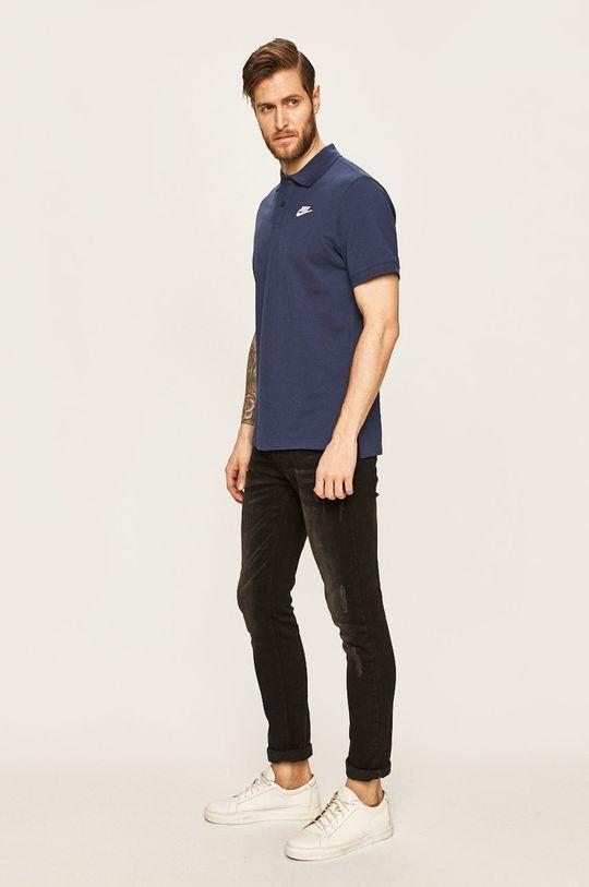 Nike Sportswear - Polo tričko námořnická modř